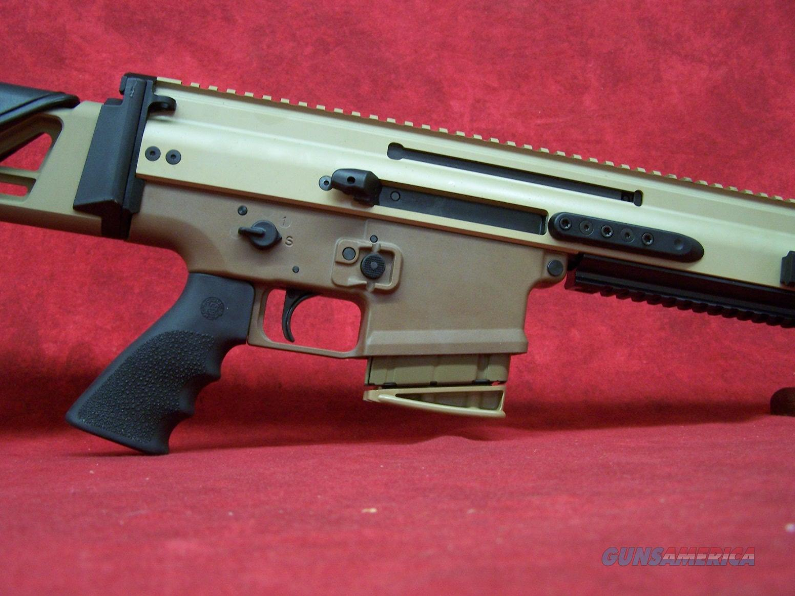 "FN SCAR 20S 7.62x51 NATO 20"" Barrel 10 RD Mag (38996)  Guns > Rifles > FNH - Fabrique Nationale (FN) Rifles > Semi-auto > SCAR"