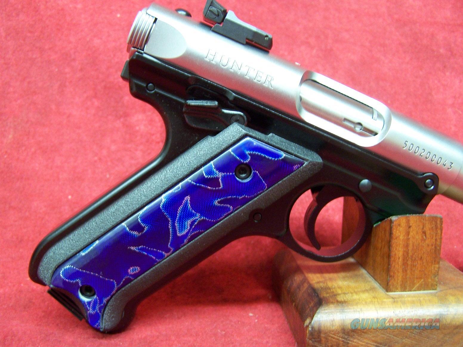 """RUGER MK IV  RAFFIR HUNTER TALO 22LR 4.5"""" SS FOS 1 of 1000 (40132)  Guns > Pistols > Ruger Semi-Auto Pistols > Mark I/II/III/IV Family"""