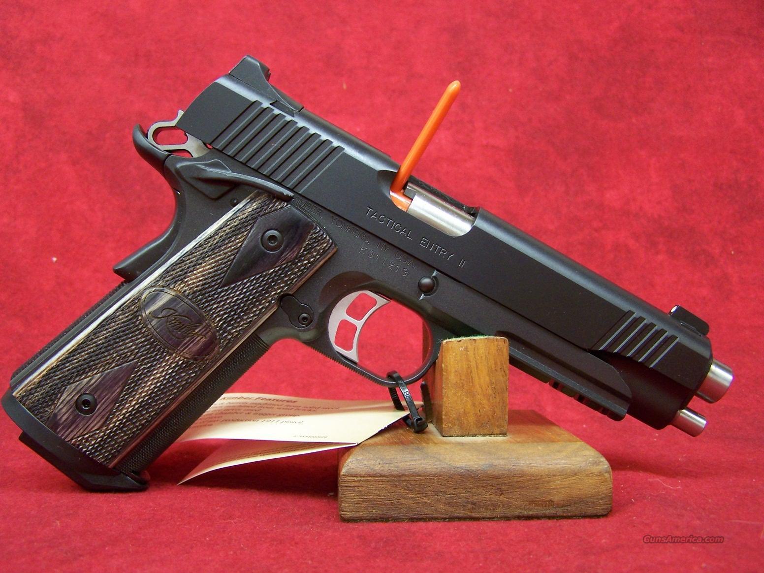 Kimber Tactical Entry II .45ACP(32199)  Guns > Pistols > Kimber of America Pistols