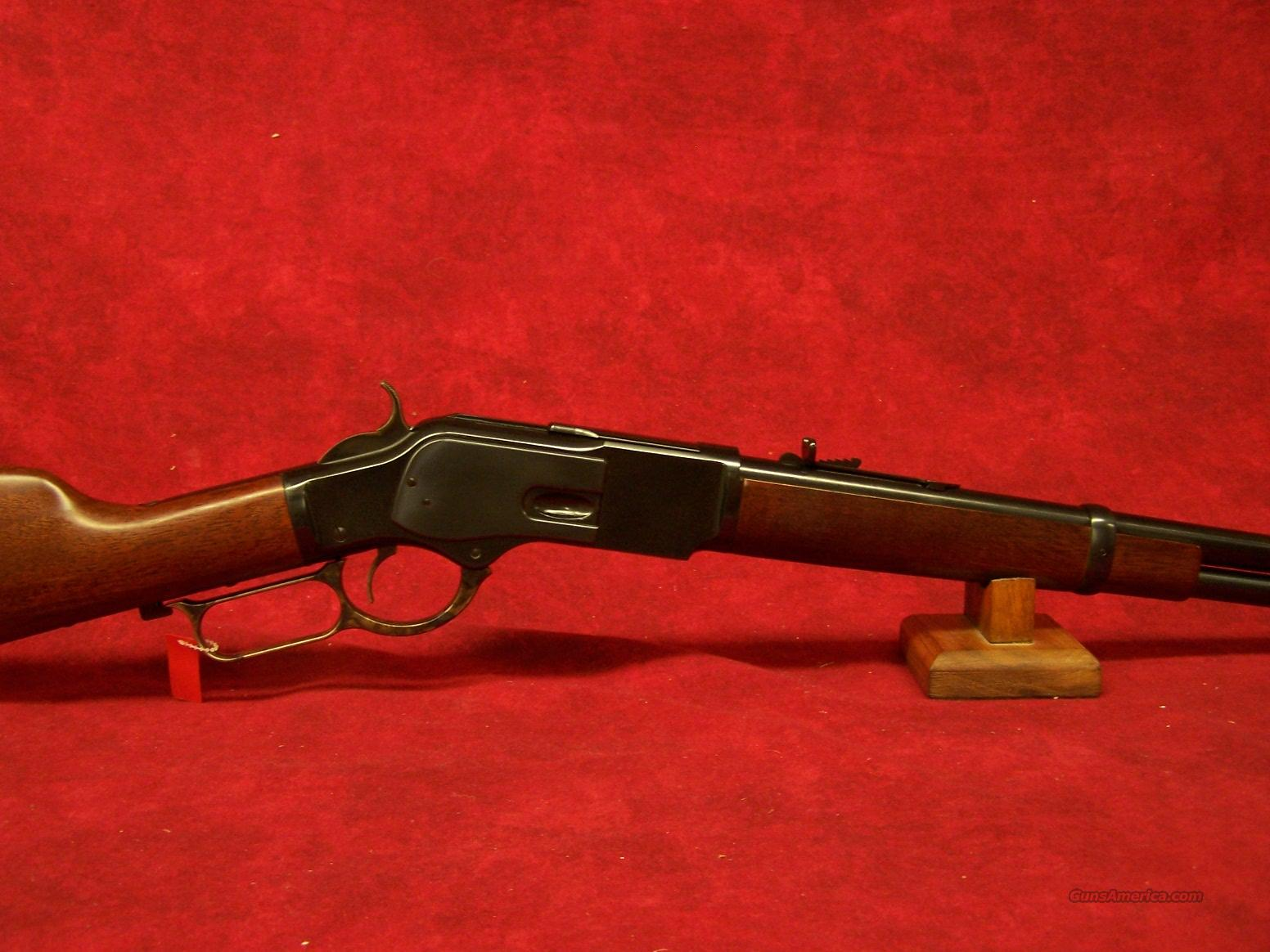 "Uberti 1873 Carbine 19"" .44 Mag Blue (341260)  Guns > Rifles > Uberti Rifles > Lever Action"