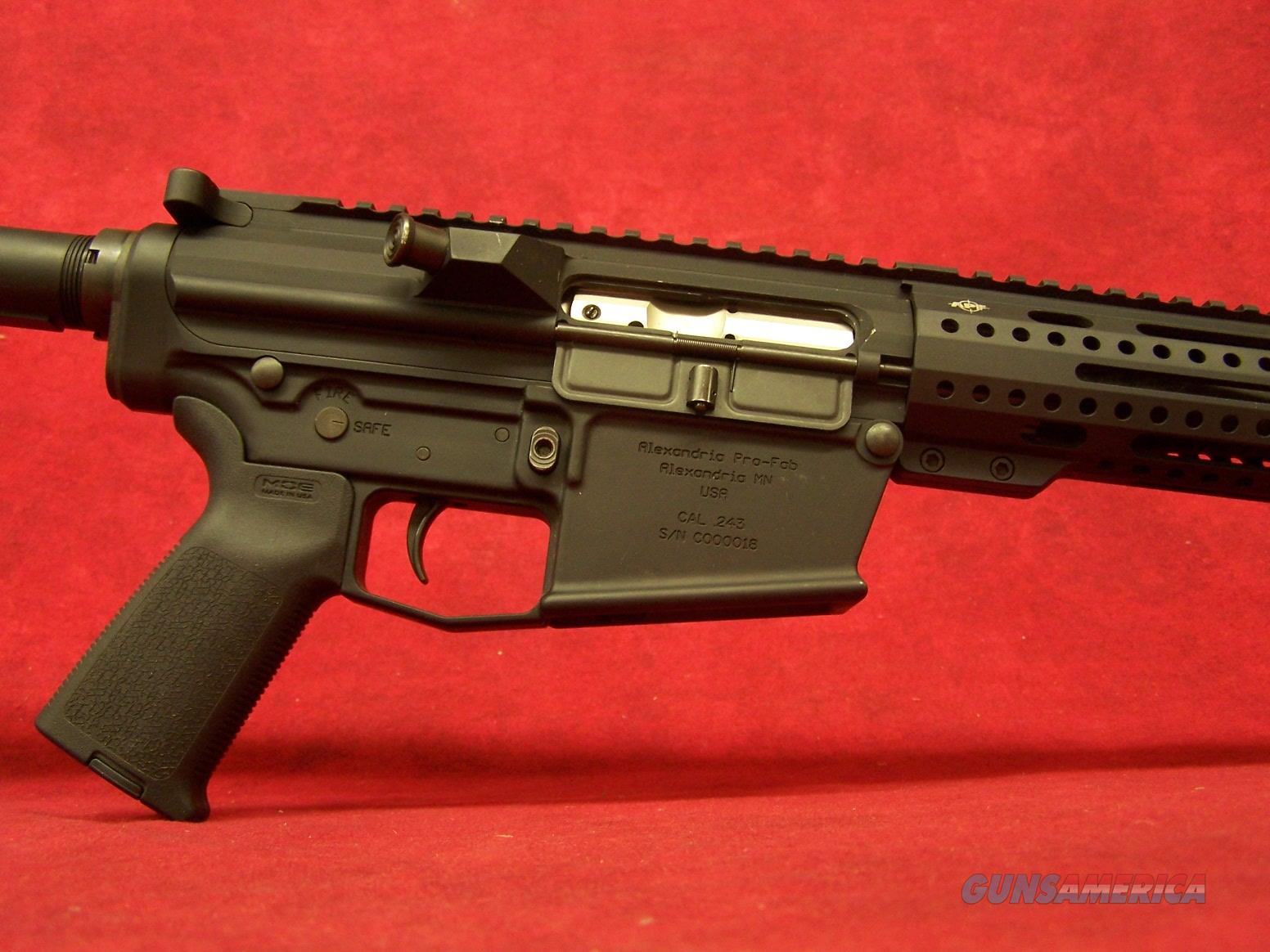 "APF 243 FIELD .243 WIN 20"" ADJ MOE STOCK/GRIP Alex Pro Firearms  Guns > Rifles > A Misc Rifles"