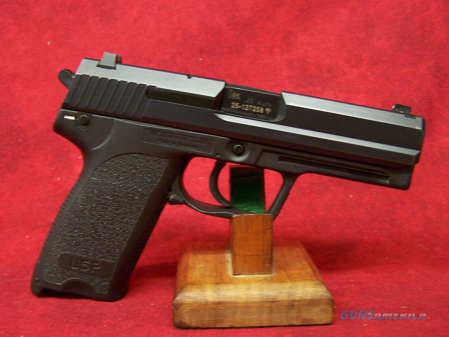 Heckler & Koch USP .45ACP (M704501-A5)  Guns > Pistols > Heckler & Koch Pistols > Polymer Frame