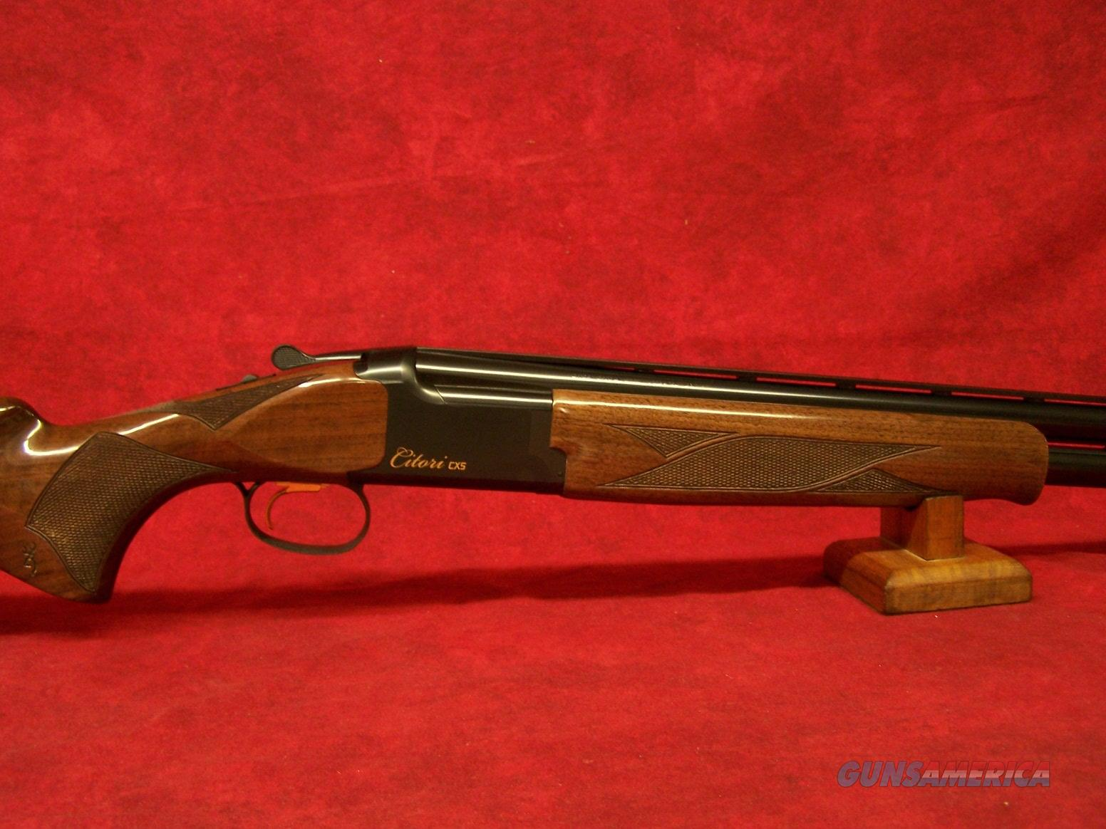 "Browning Citori CXS 12ga 30"" (018073303)  Guns > Shotguns > Browning Shotguns > Over Unders > Citori > Trap/Skeet"