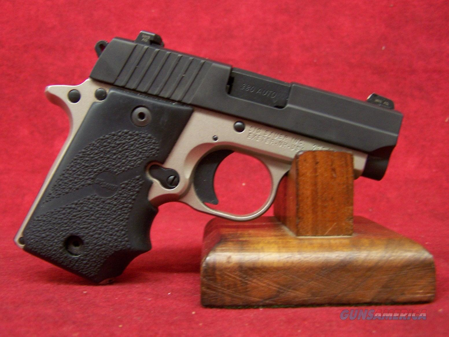 "Sig Sauer P238 2-Tone Platinum .380 Auto 2.7"" Barrel w/ S-Lite   Guns > Pistols > Sig - Sauer/Sigarms Pistols > P238"