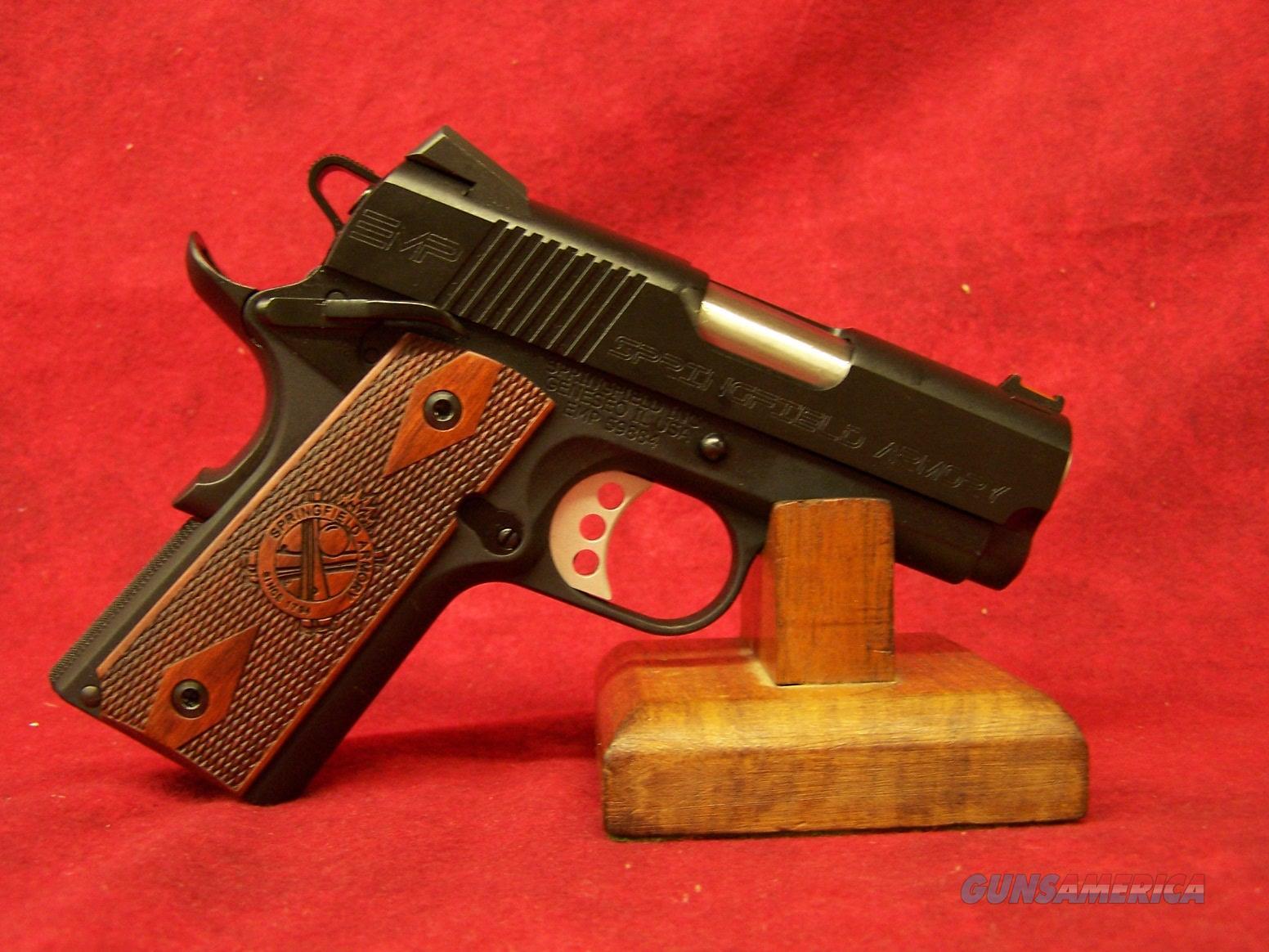 "Springfield 1911 EMP 9mm Compact LW Black 3"" Barrel (PI9208L)  Guns > Pistols > Springfield Armory Pistols > 1911 Type"