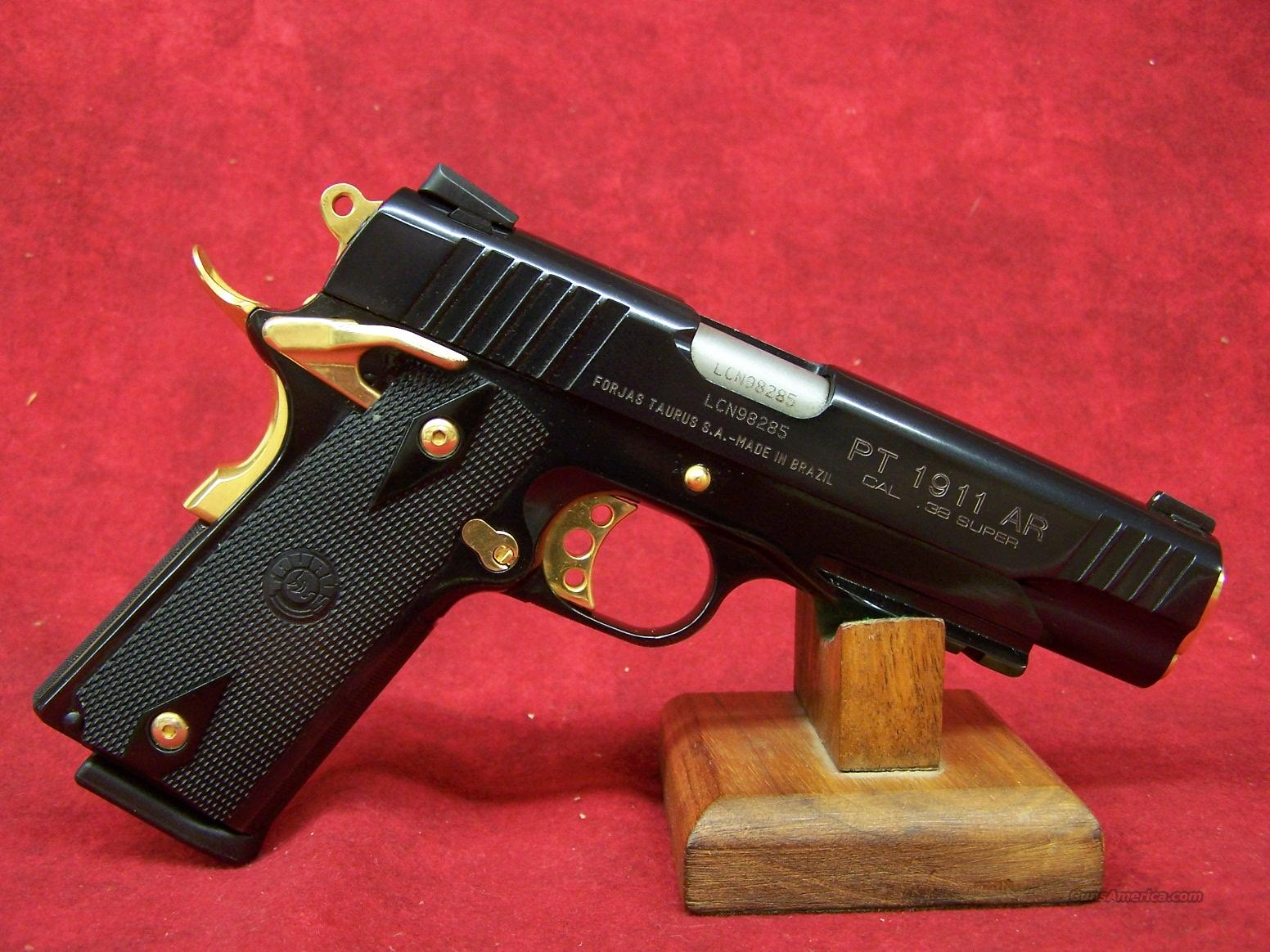 Similiar Gold 38 Keywords Diagram Colt 1911 Cup Lzk Gallery Taurus Super With Accents And Rai For Sale