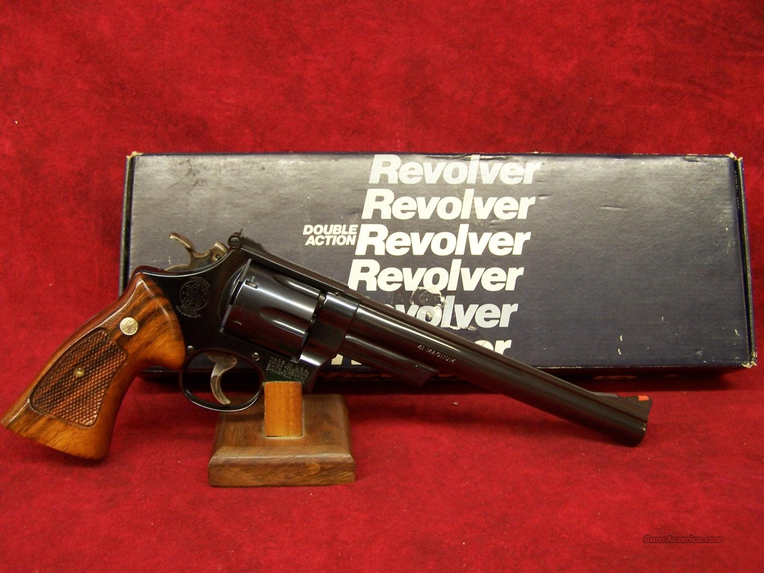 "Smith & Wesson Model 57 .41 Magnum 8 3/8"" Blue  Guns > Pistols > Smith & Wesson Revolvers > Full Frame Revolver"