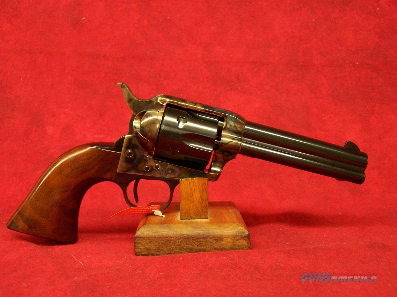 "Uberti 1873 Cattleman Steel NM .22lr 4 3/4"" Steel Backstrap and trigger guard (356083)  Guns > Pistols > Uberti Pistols > Ctg."