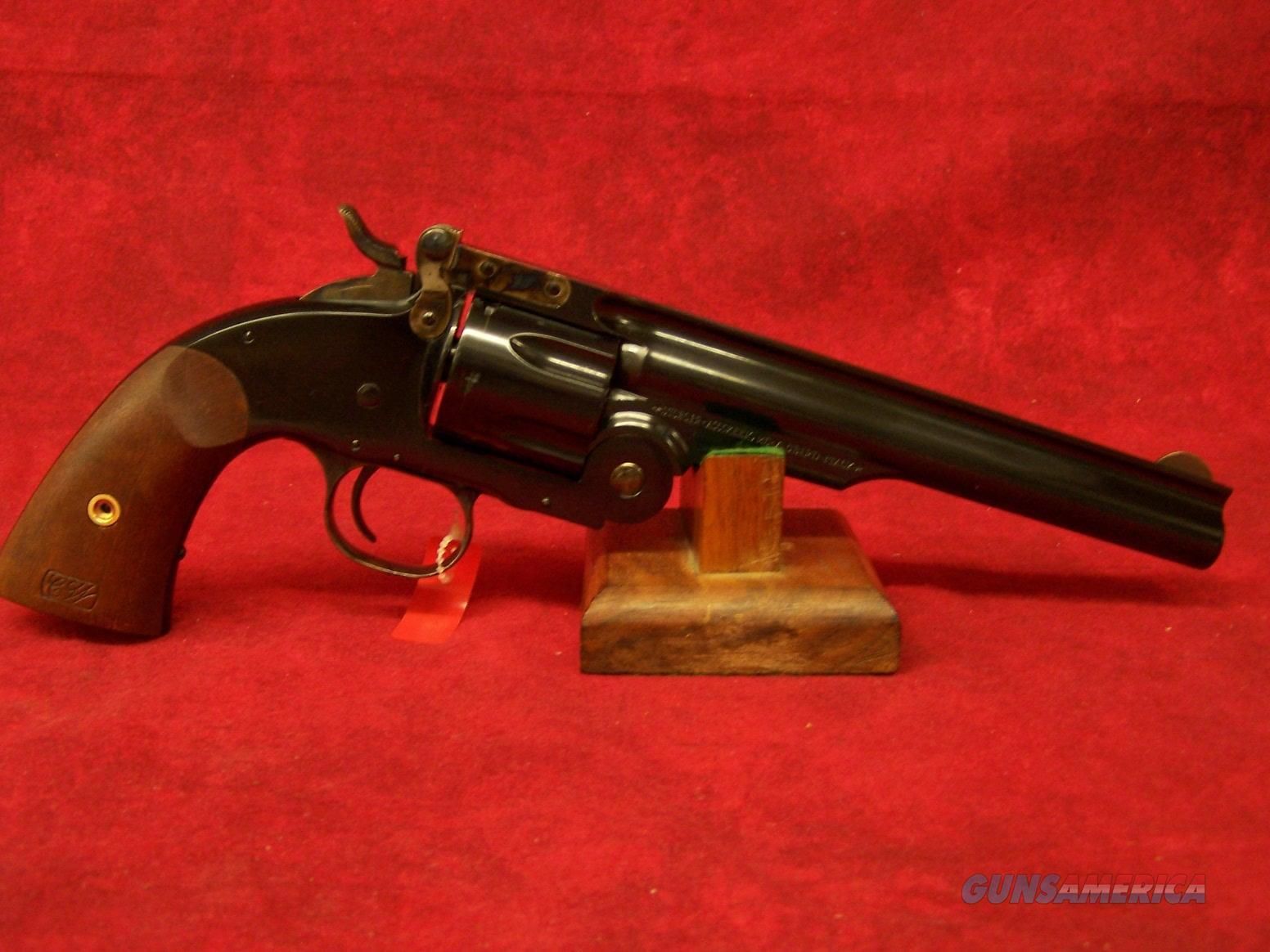 "Uberti 1875 Top Break No.3 2nd Model 7"" Blue/Walnut .45 Colt (348500)  Guns > Pistols > Uberti Pistols > Ctg."