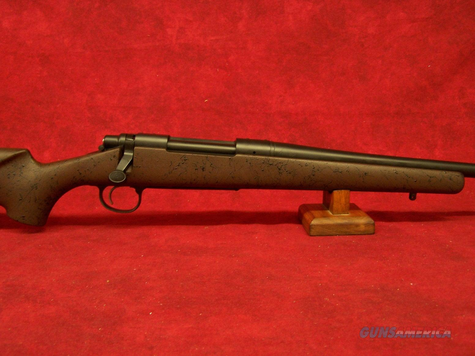 "Remington 700 American Wilderness Rifle .300 WinMag 24"" Barrel Black Cerakote Finish Grayboe Stock (84555)  Guns > Rifles > Remington Rifles - Modern > Model 700 > Sporting"