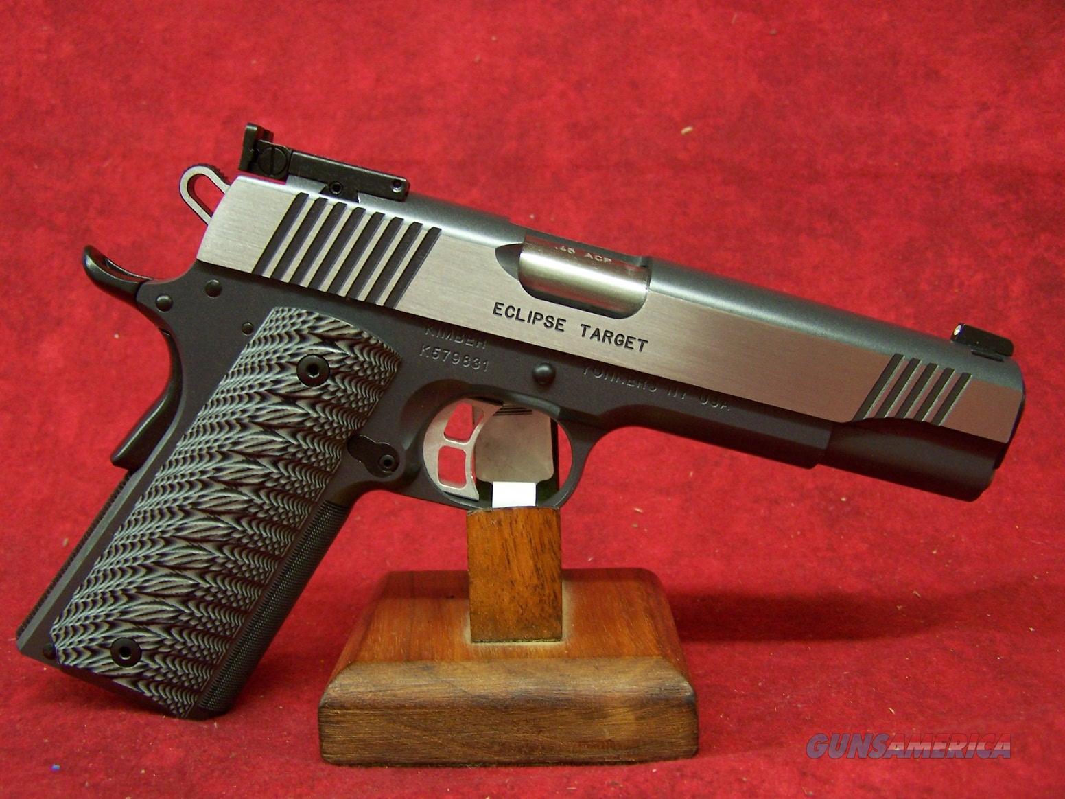 "Kimber Eclipse Target 45 ACP 5"" Barrel (30241)  Guns > Pistols > Kimber of America Pistols"