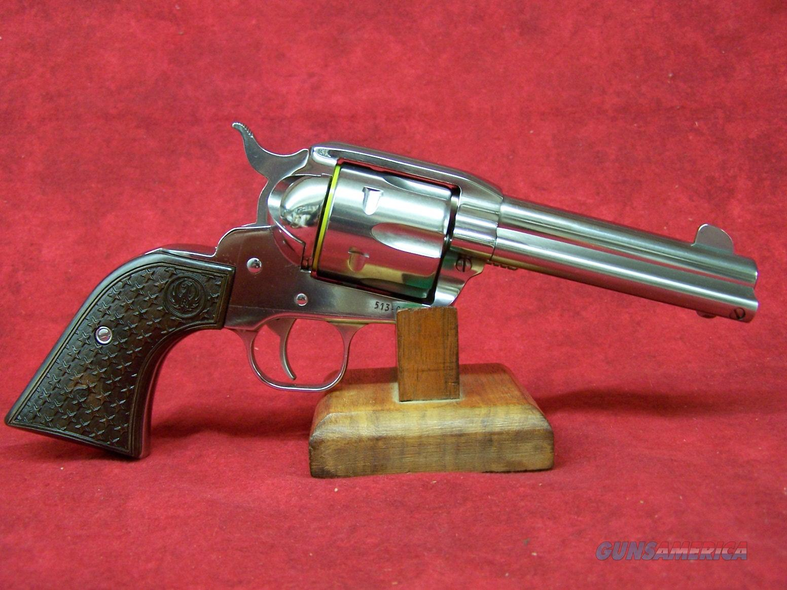"RUGER TALO VAQUERO 357MAG 4 5/8"" FAST DRAW SS (05159)  Guns > Pistols > Ruger Single Action Revolvers > Single Six Type"