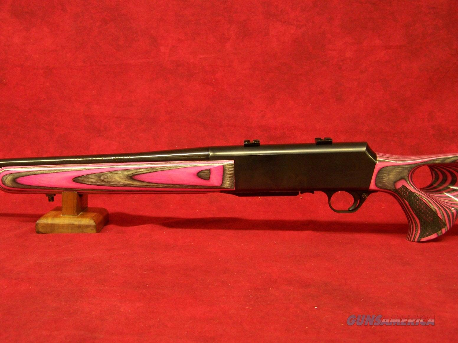 "Browning BAR .270 Rem 22"" Barrel Left Hand, Pink Laminate Stock. Re-Blued Receiver  Guns > Rifles > Browning Rifles > Semi Auto > Hunting"