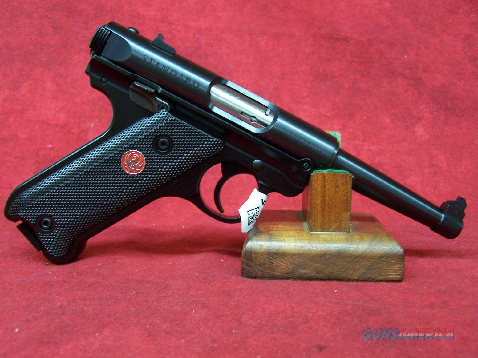 "Ruger Mark IV Standard .22LR 4.75"" Blue Barrel (40104)  Guns > Pistols > Ruger Semi-Auto Pistols > Mark I/II/III/IV Family"