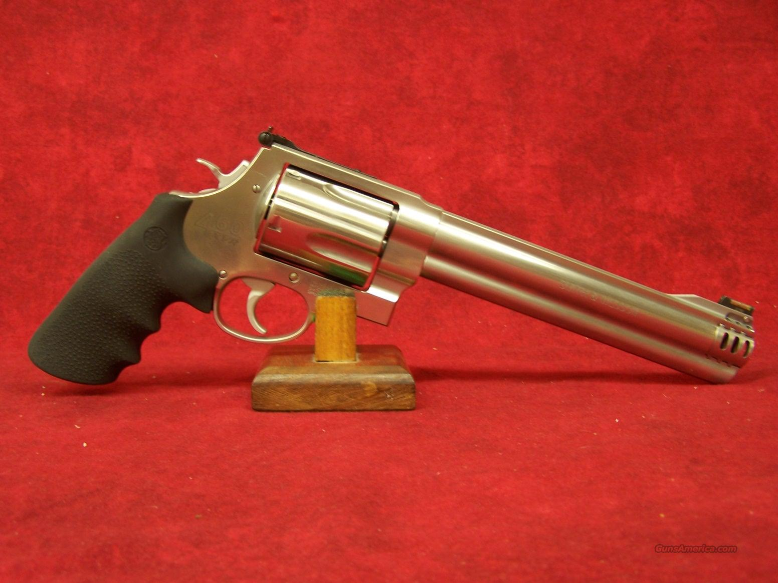 Smith & Wesson 460XVR .460S&W Mag (163460)  Guns > Pistols > Smith & Wesson Revolvers > Full Frame Revolver