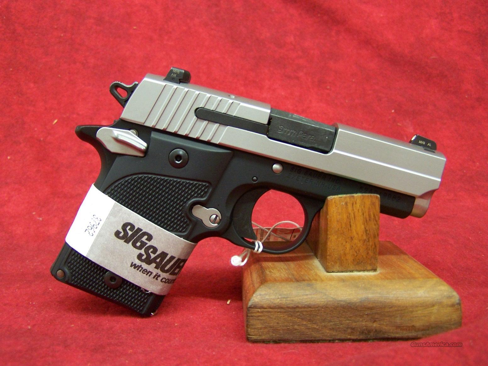 Sig Sauer 938 AG 9mm (938-9-AG-AMBI)  Guns > Pistols > Sig - Sauer/Sigarms Pistols > Other