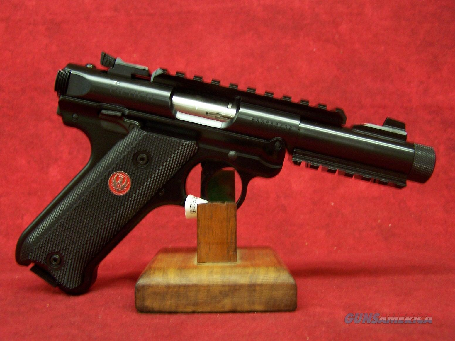 "Ruger Mark IV Tactical Blued .22LR 5.5"" Barrel (40150)  Guns > Pistols > Ruger Semi-Auto Pistols > Mark I/II/III/IV Family"