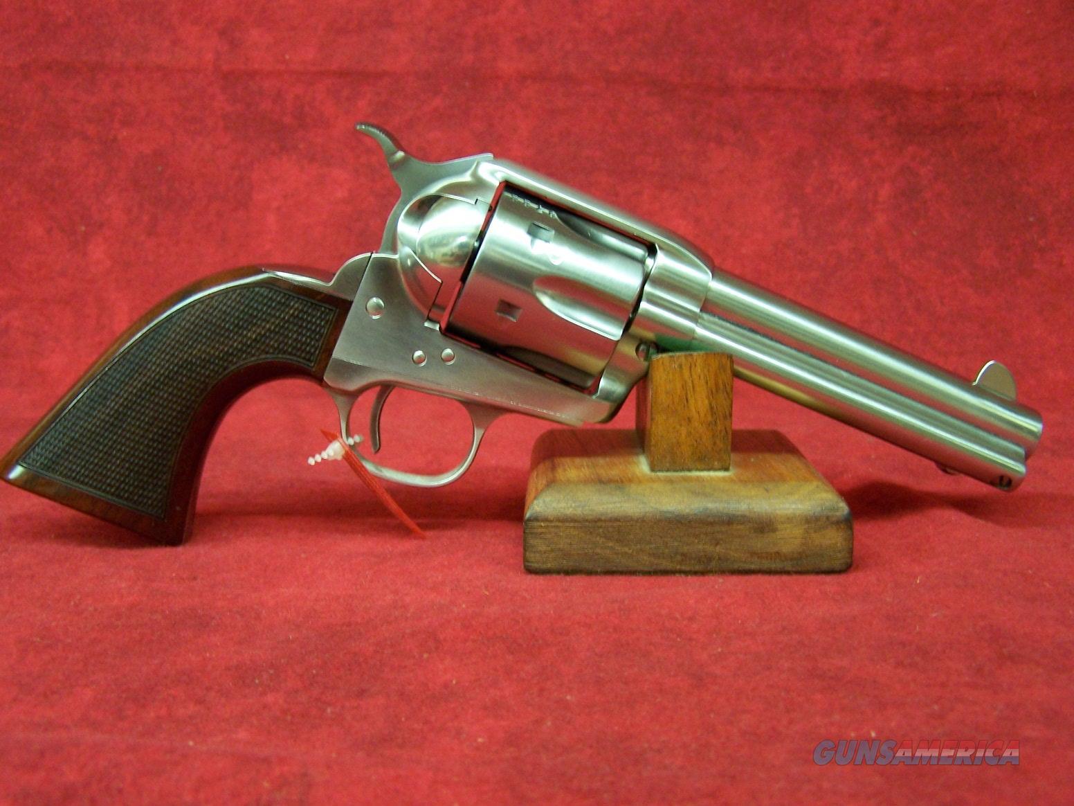 "Uberti 1873 Cattleman II El Patron Competition .357 Mag 4 3/4"" Stainless Steel (345184)   Guns > Pistols > Uberti Pistols > Ctg."