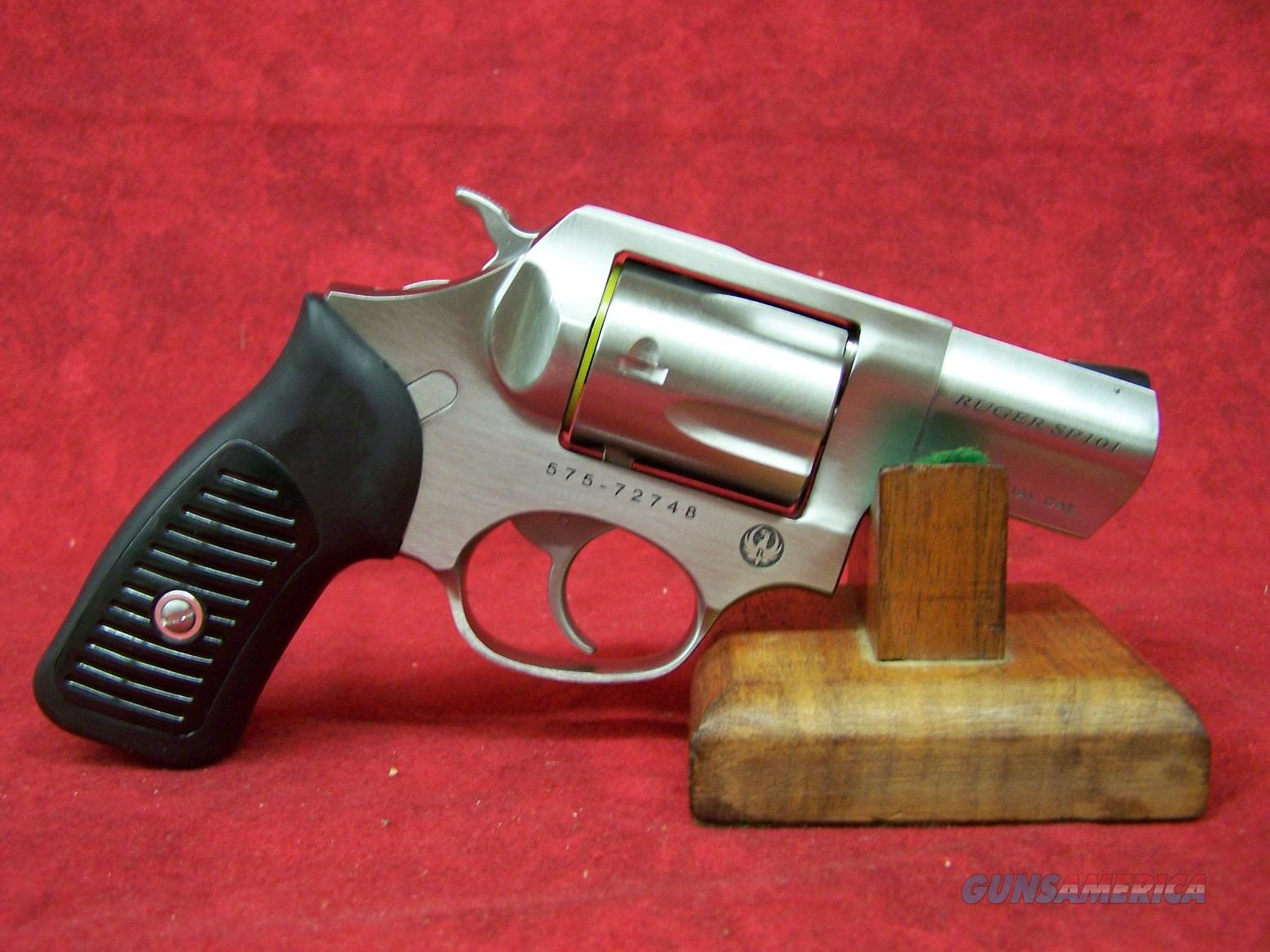 Ruger Model KSP-821X .38 Special +P 2.25 Inch Barrel Satin Stainless Finish (05737)  Guns > Pistols > Ruger Double Action Revolver > SP101 Type
