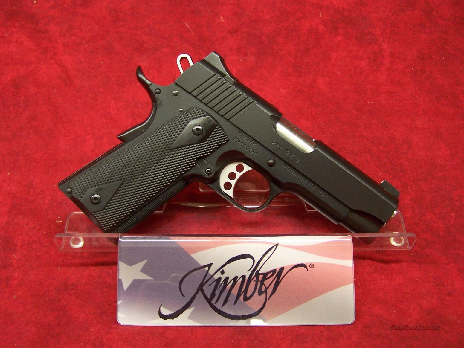 Kimber  Pro TLE II .45ACP (32168)  Guns > Pistols > Kimber of America Pistols