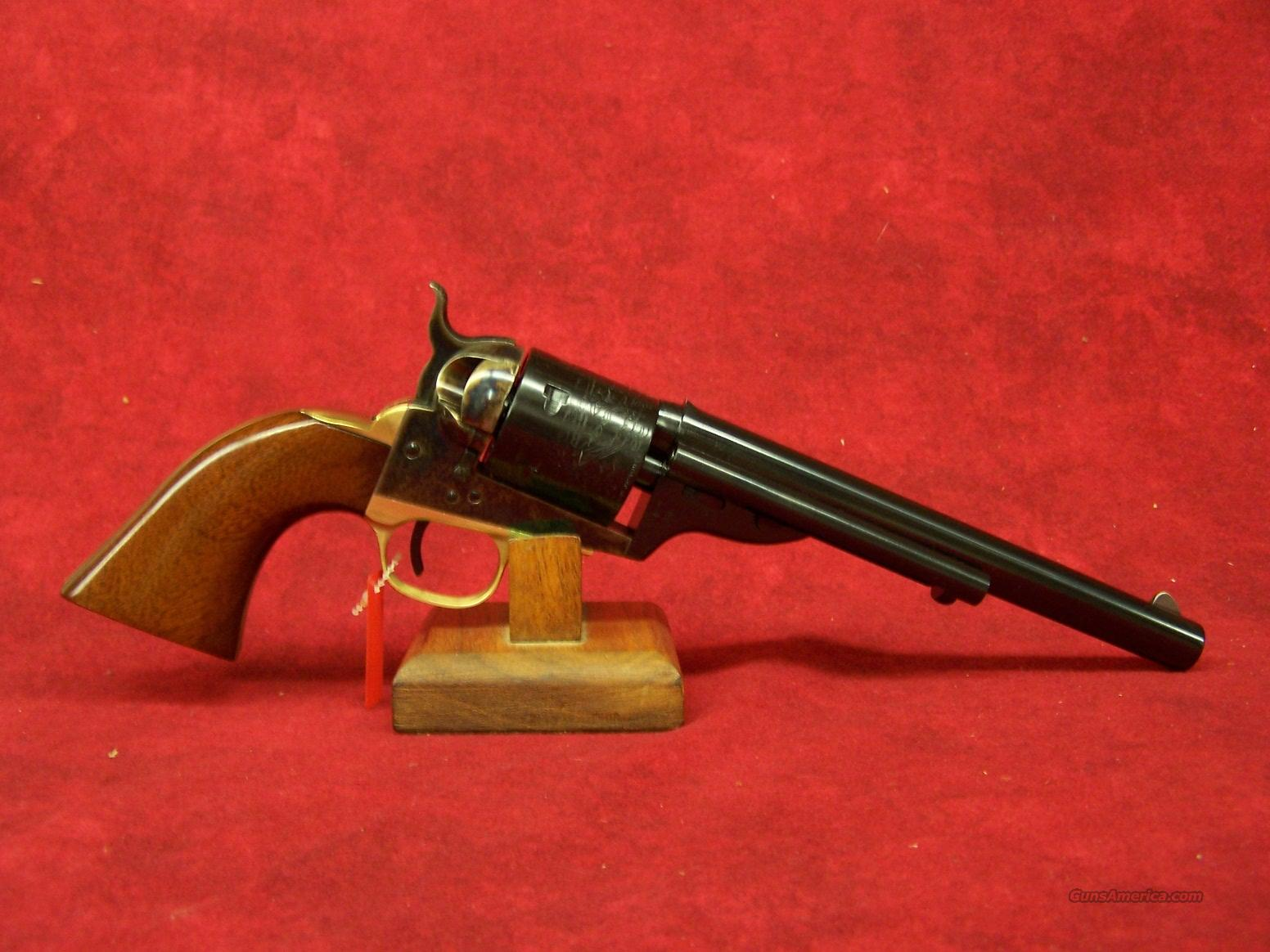 "Uberti 1871 Open Top Early model Navy 7 1/2"" .38 Special (341354)  Guns > Pistols > Uberti Pistols > Ctg."