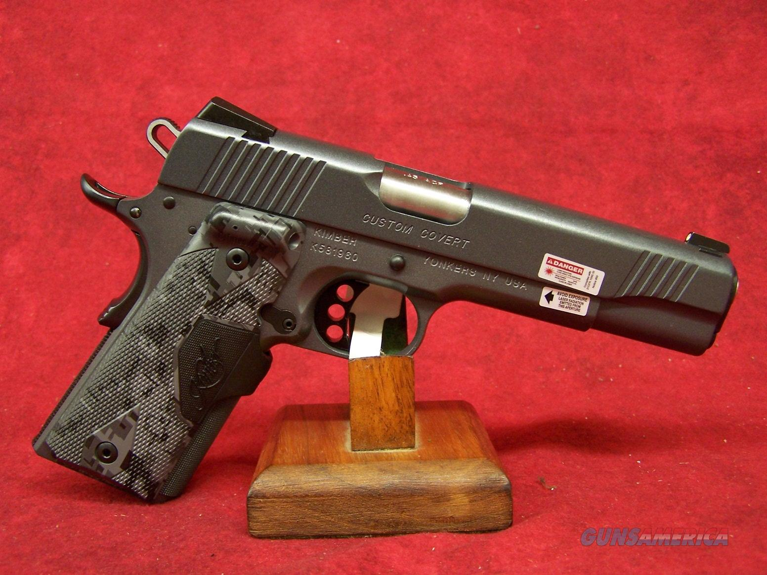 "Kimber Custom Covert 45 ACP 5.25"" Barrel (30235)  Guns > Pistols > Kimber of America Pistols"