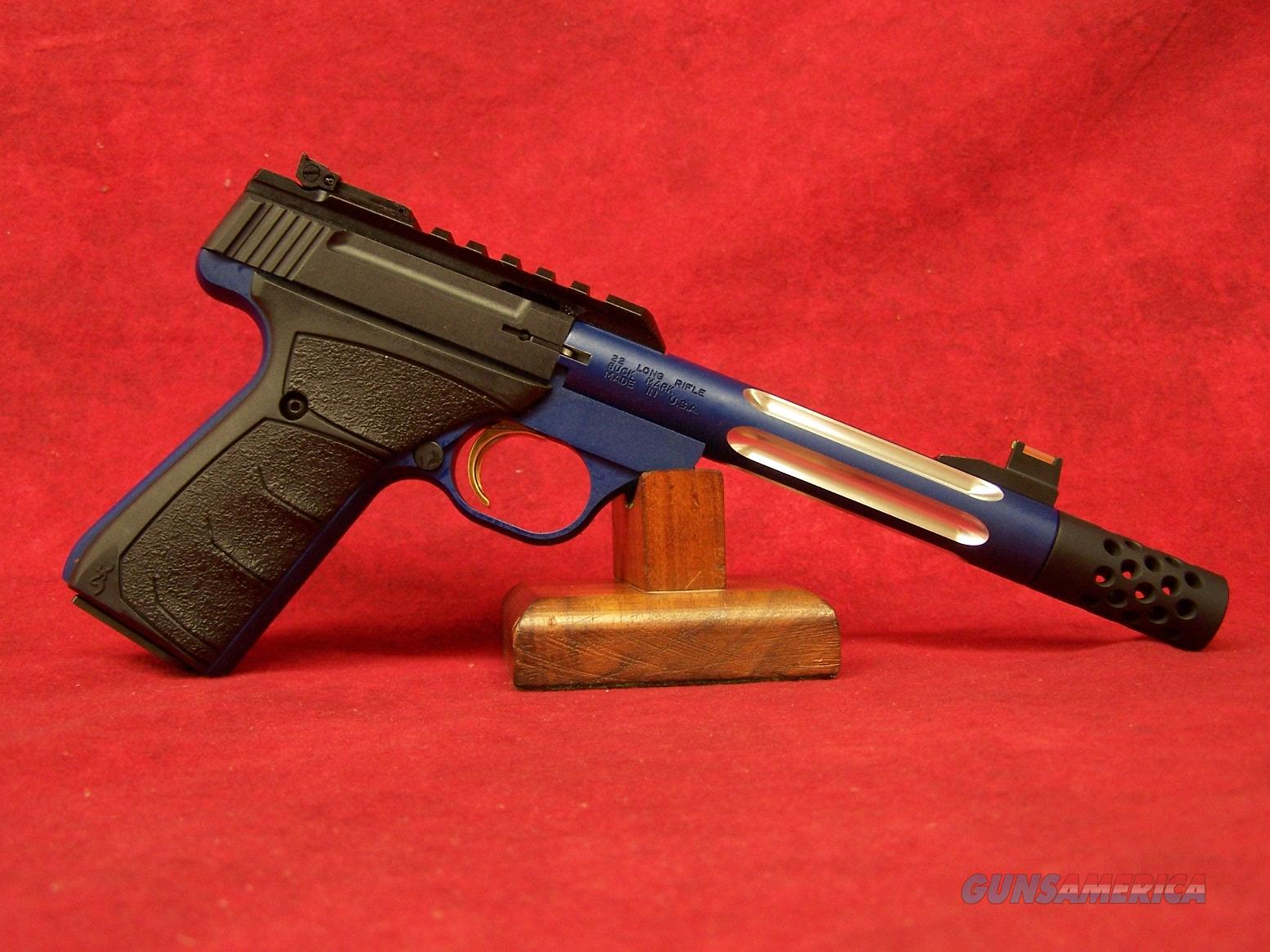 "Browning Buck Mark Plus Lite Competition Blue .22LR 5.5"" Barrel (051551490)  Guns > Pistols > Browning Pistols > Buckmark"