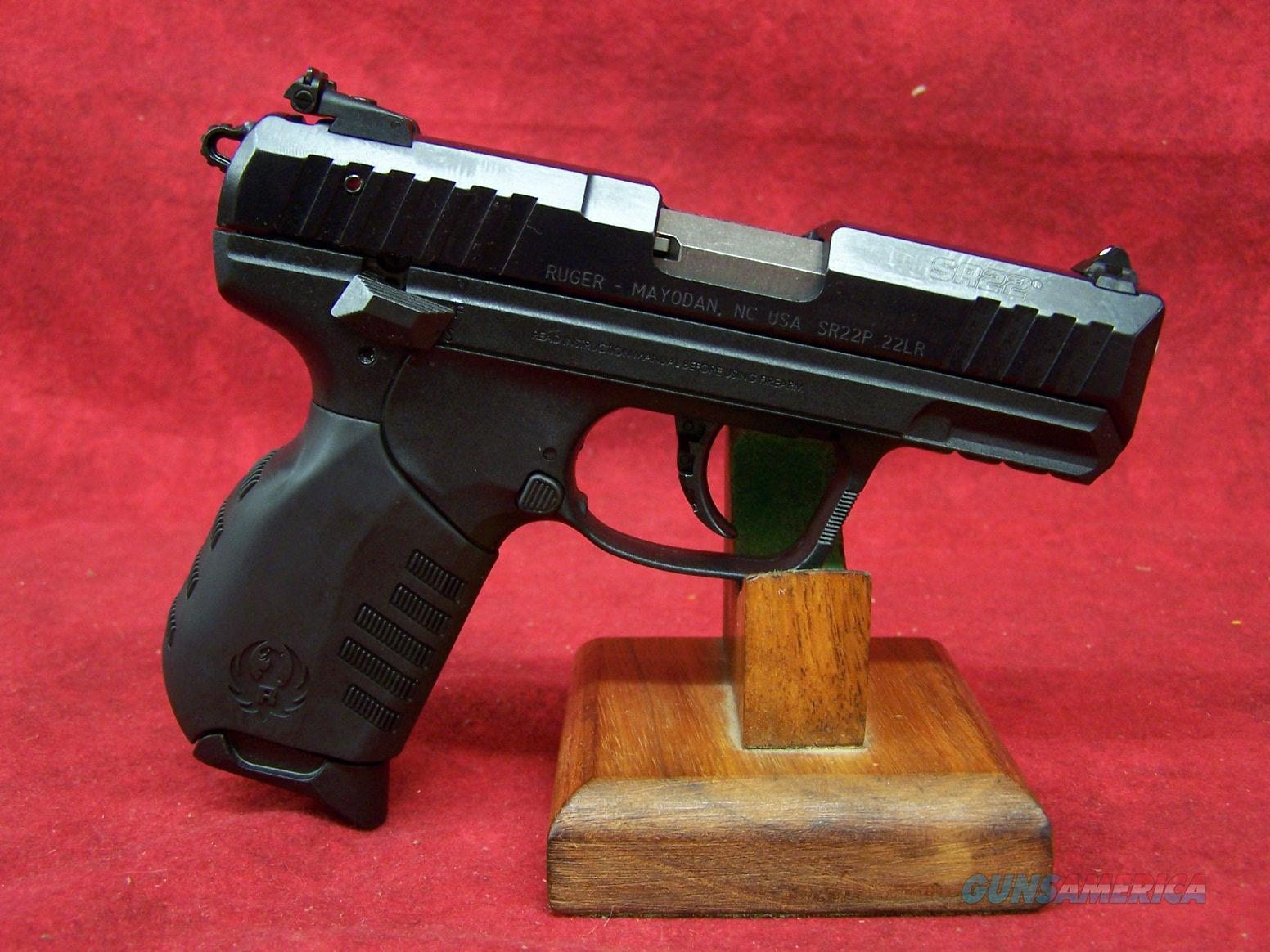 "Ruger SR22PB 22LR 3.5"" Barrel (03600)  Guns > Pistols > Ruger Semi-Auto Pistols > SR Family > SR22"