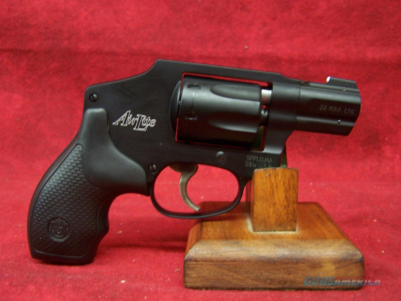 Smith & Wesson 351C AirLite .22 Magnum 1.875 Inch Barrel (103351)  Guns > Pistols > Smith & Wesson Revolvers > Small Frame ( J )