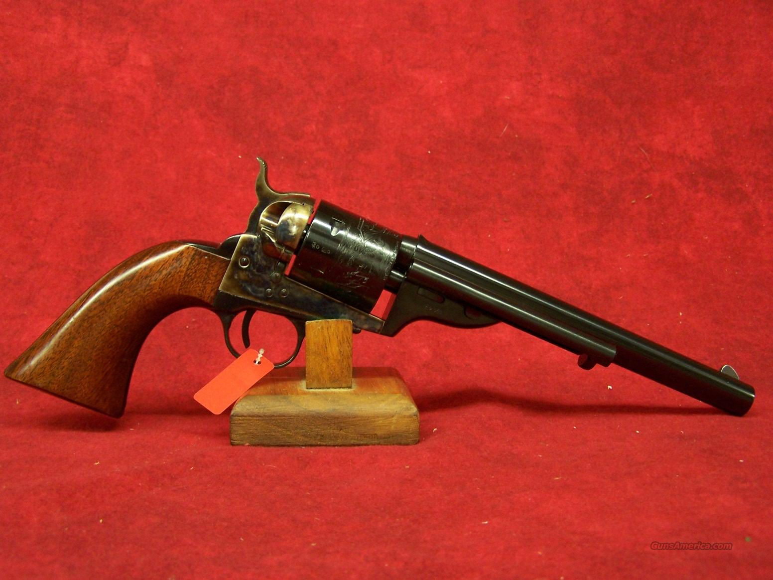 "Uberti Open Top Late model Army .38 Special 7 1/2"" (341351)  Guns > Pistols > Uberti Pistols > Ctg."