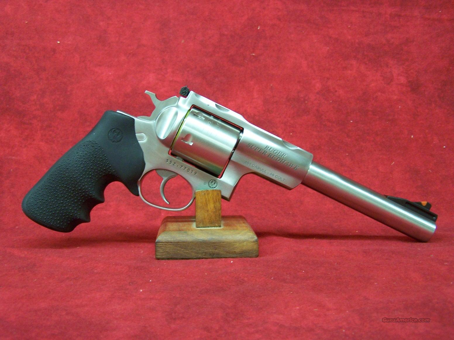 "Ruger Super Redhawk 454 Casull 7 1/2"" Barrel (05505)  Guns > Pistols > Ruger Double Action Revolver > Redhawk Type"