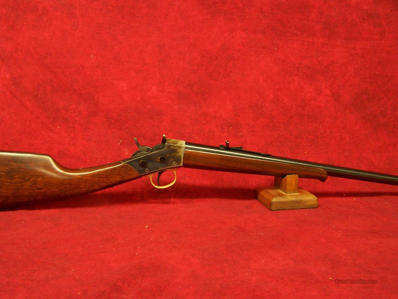 Uberti 1871 Rolling Block Hunting Carbine .22lr(341400)  Guns > Rifles > Uberti Rifles > Single Shot