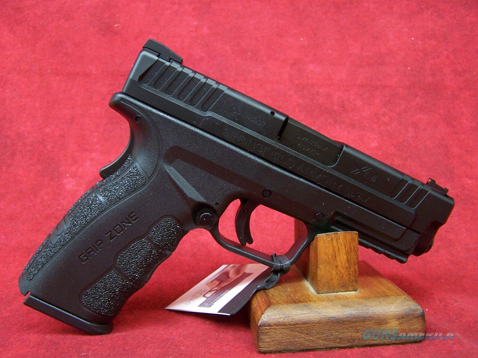 "Springfield Armory XDG Mod.2 Tactical .45 ACP 4"" Barrel (XDG9445BHC)  Guns > Pistols > Springfield Armory Pistols > XD-Mod.2"