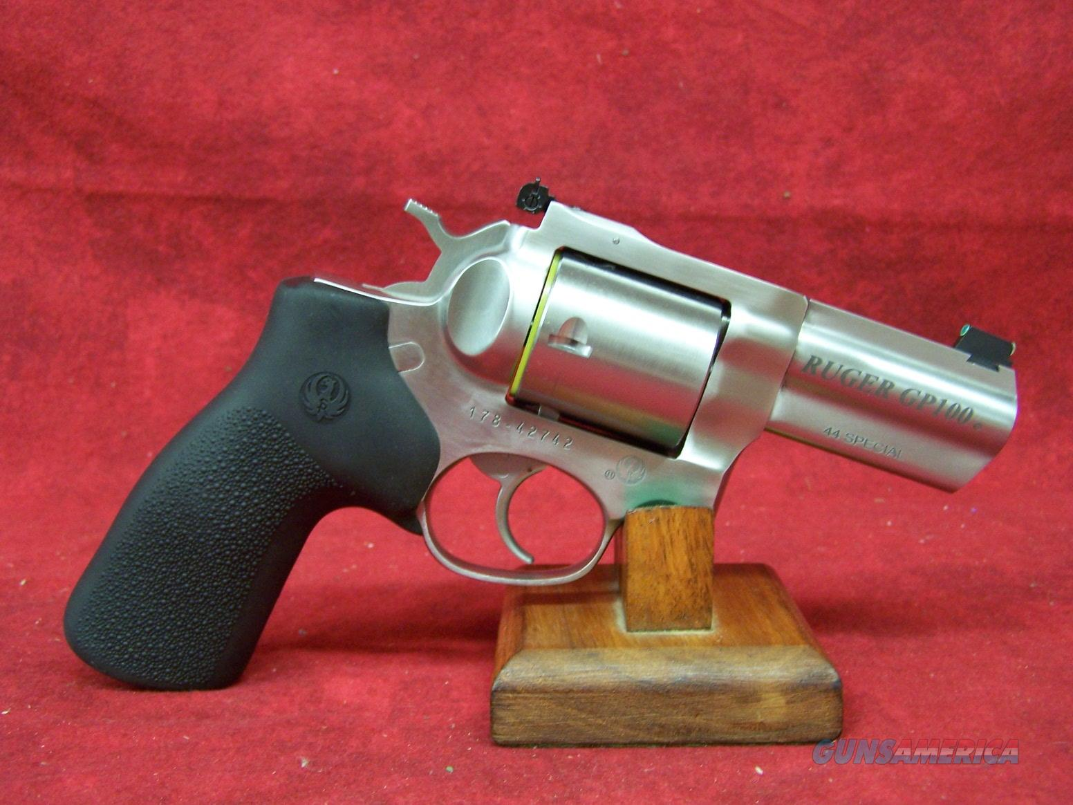 Ruger Model GP-100 .44 Special 3 Inch Full Shroud Barrel (01761)  Guns > Pistols > Ruger Double Action Revolver > GP100