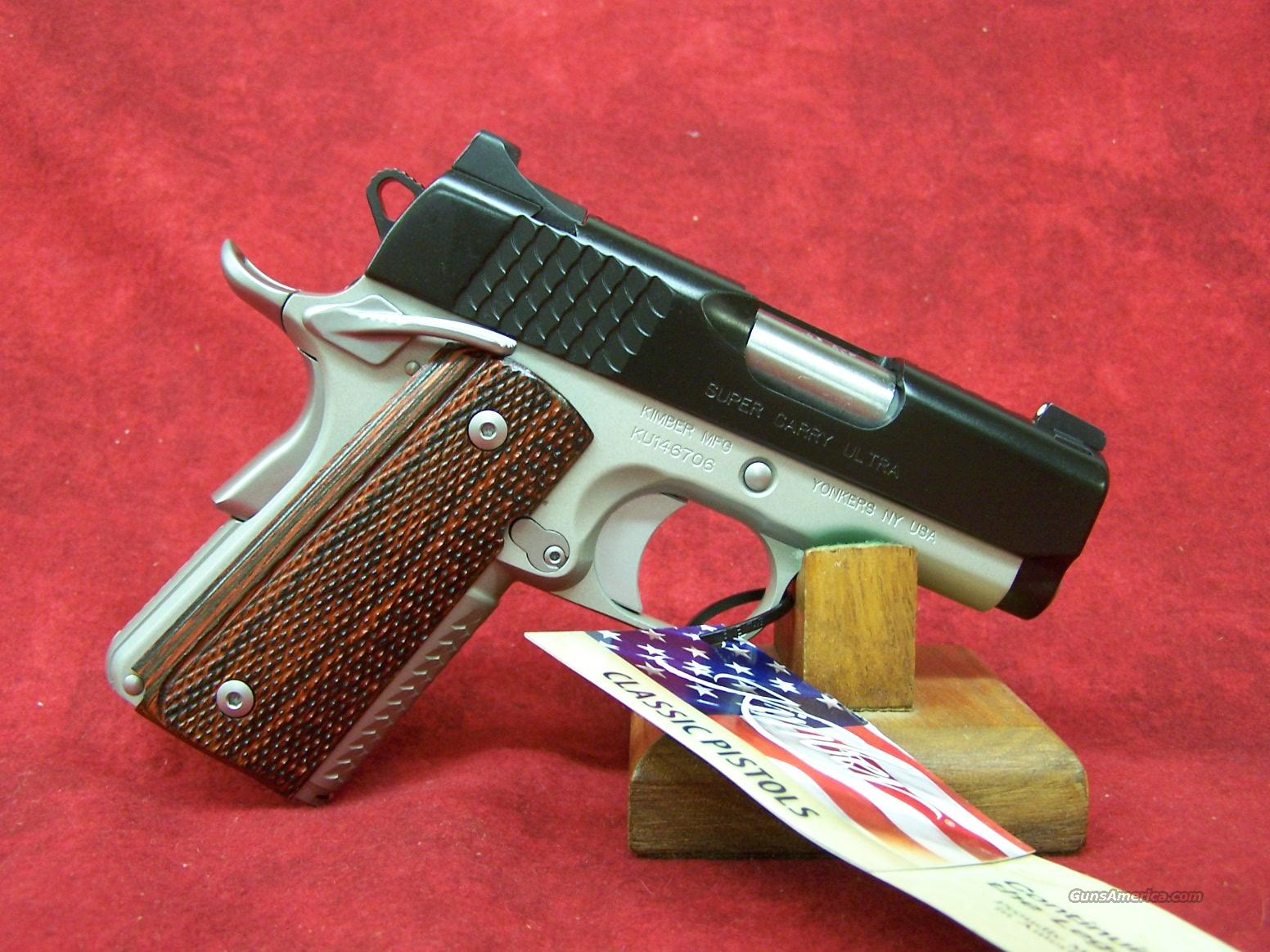Kimber Super Carry Ultra .45ACP(30248)  Guns > Pistols > Kimber of America Pistols