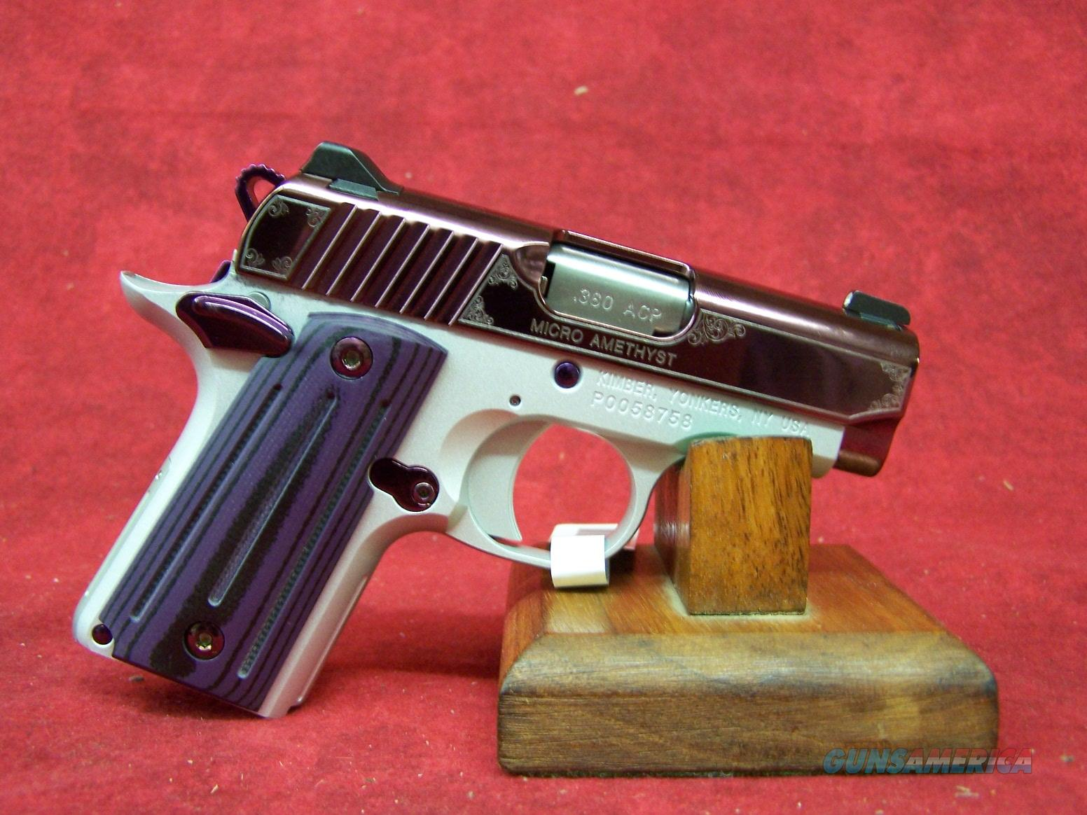 "Kimber Micro Amethyst .380 2.75"" Barrel (33160) Guns > Pistols >  Kimber of America Pistols > Micro"