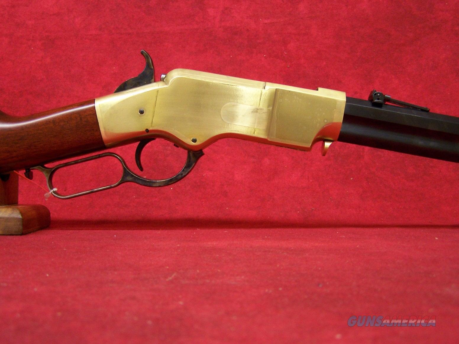 "Uberti 1860 Henry Trapper Brass .45LC 18 1/2"" (342910)  Guns > Rifles > Uberti Rifles > Lever Action"