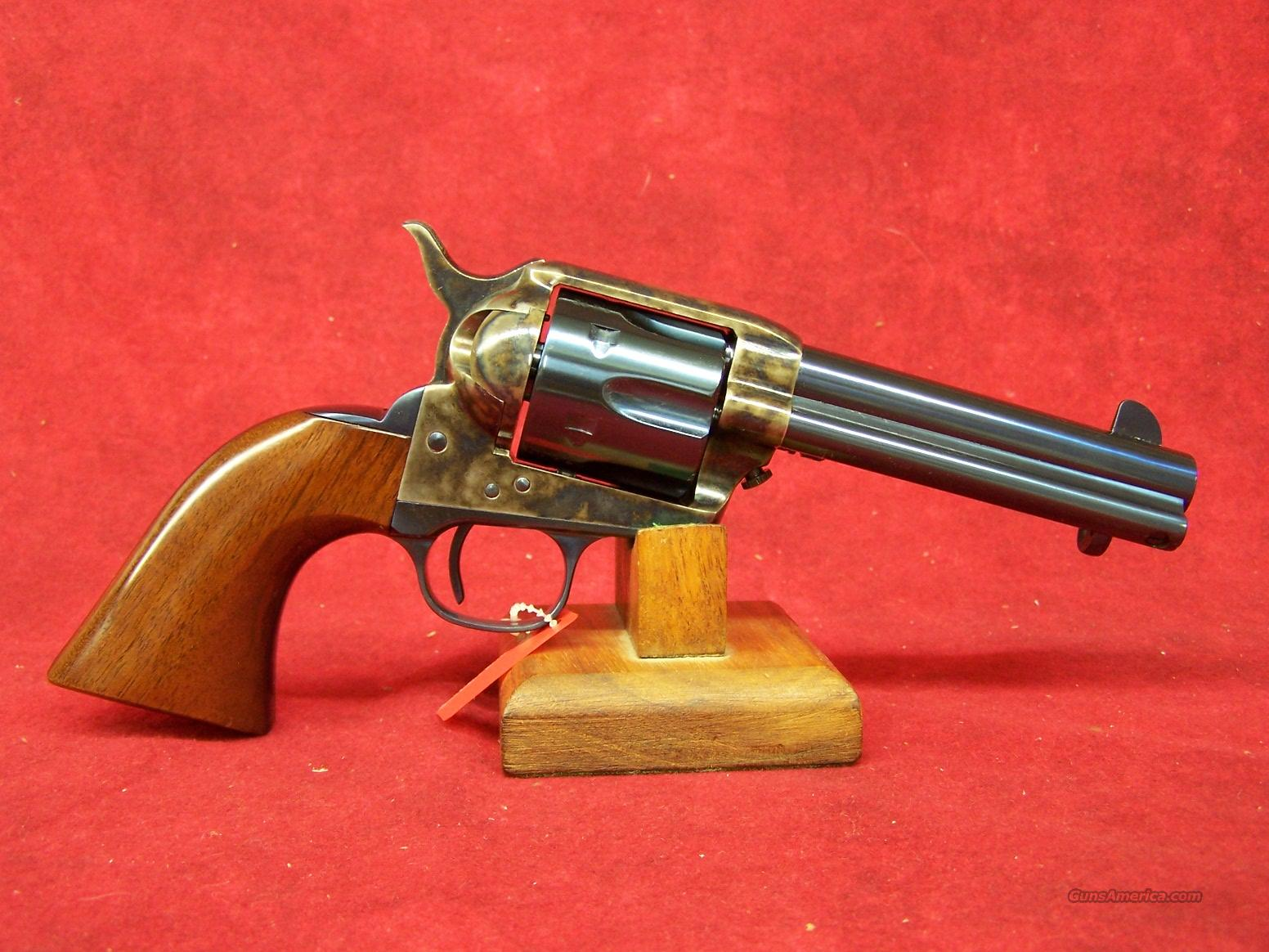 "Uberti 1873 Cattleman Old Model Charcoal Blue 4 3/4"" .45LC (345123)  Guns > Pistols > Uberti Pistols > Ctg."
