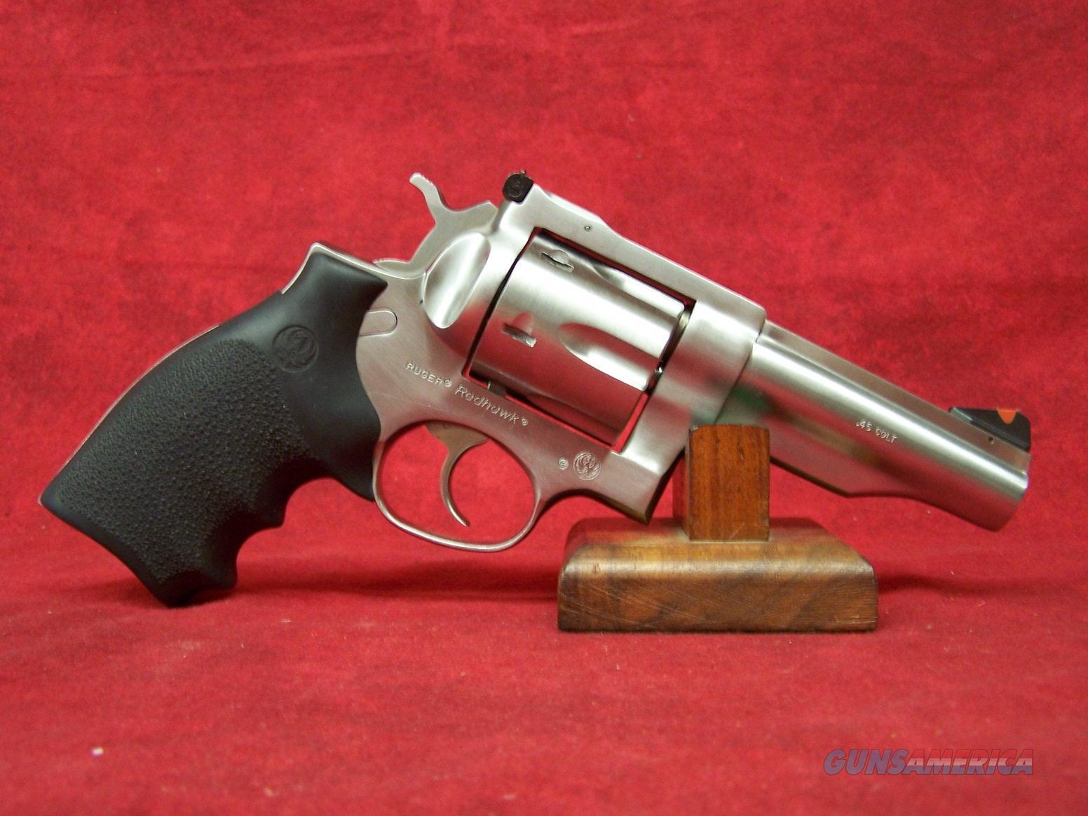 """Ruger Redhawk  .45 Colt 4"""" SS Barrel (05027)  Guns > Pistols > Ruger Double Action Revolver > Redhawk Type"""