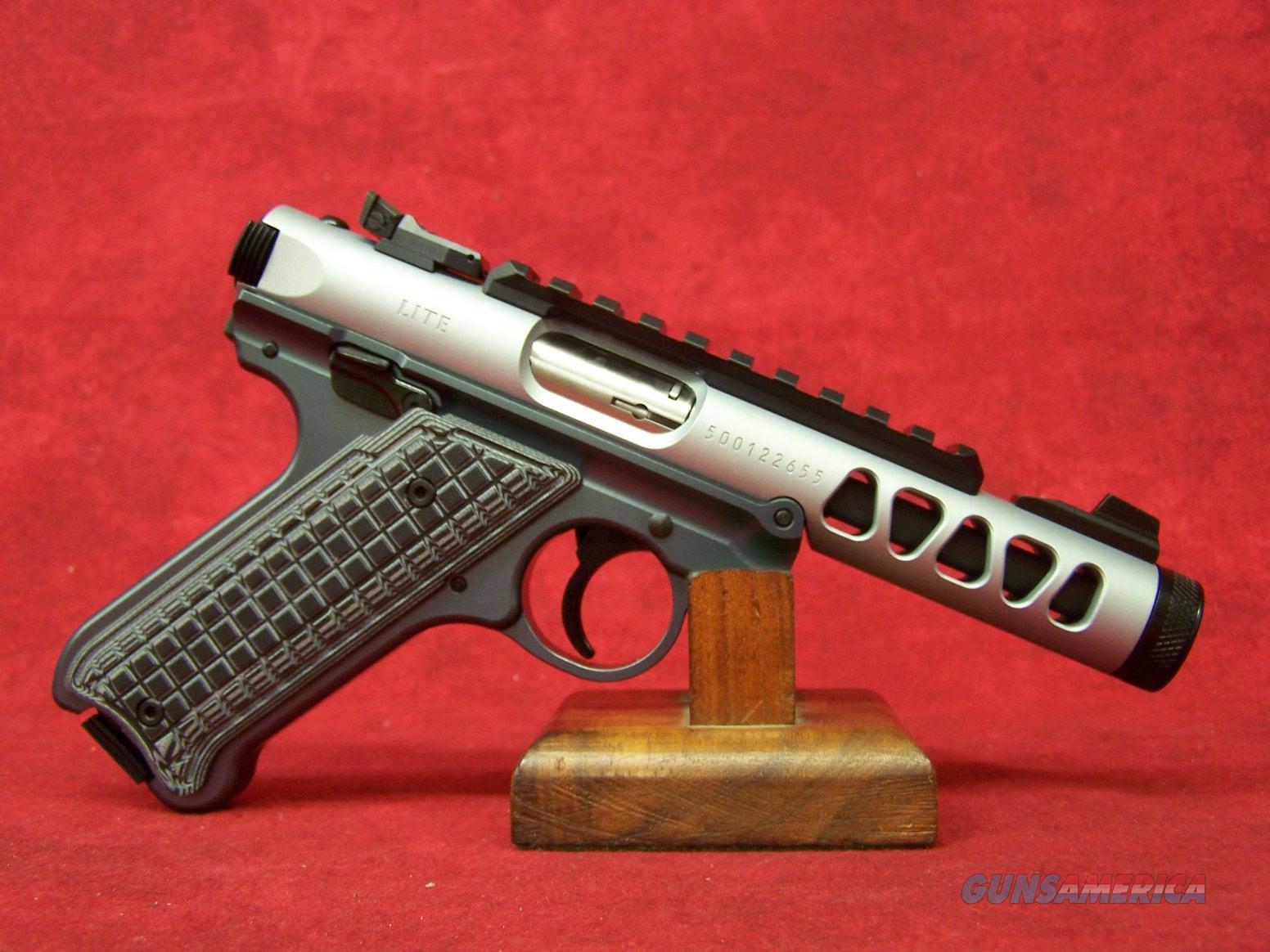 "Ruger Mark IV 22/45 Diamond Gray Anodized .22LR 4.4"" Barrel (43922)  Guns > Pistols > Ruger Semi-Auto Pistols > Mark I/II/III/IV Family"