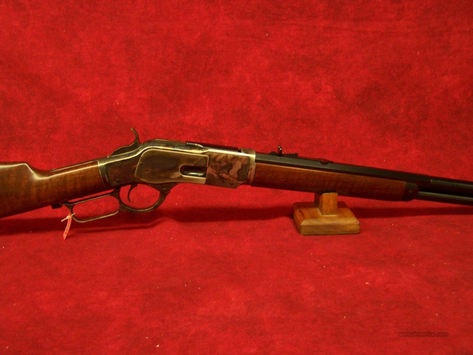 "Uberti 1873 Rifle Half Octagonal 18"" Barrel .45LC (342440)   Guns > Rifles > Uberti Rifles > Lever Action"
