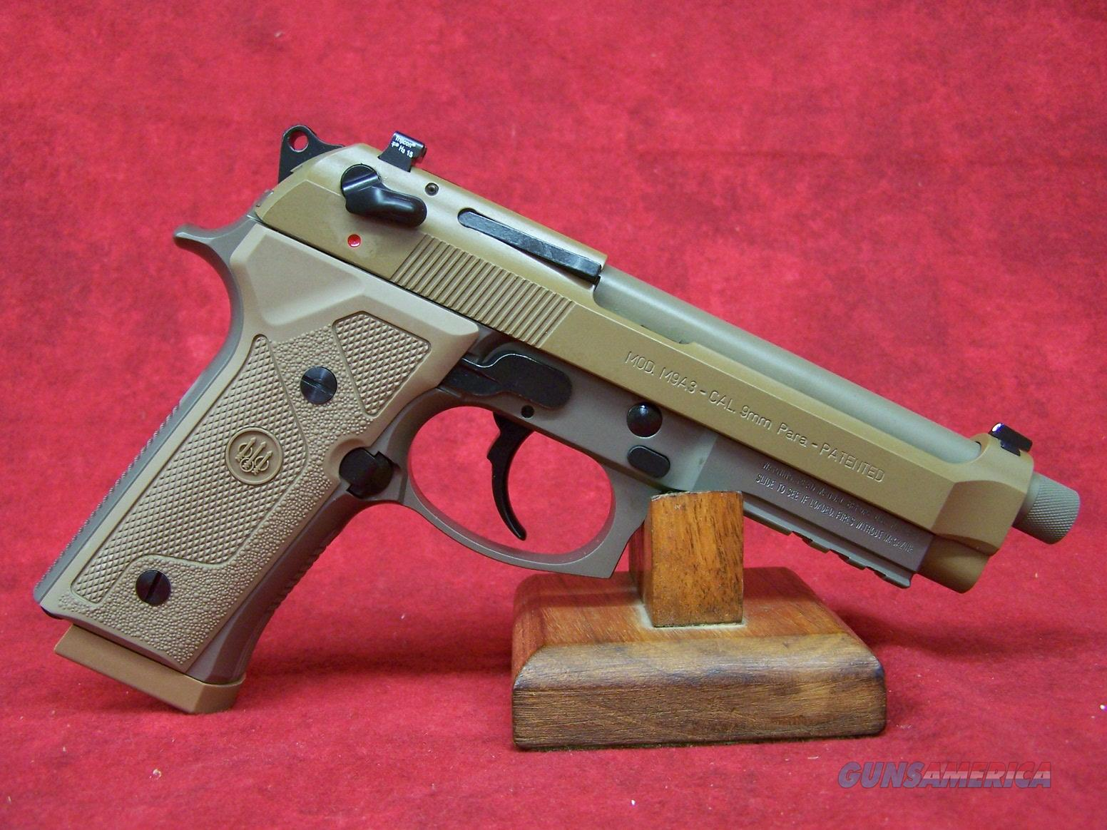 "Beretta M9A3 9mm 4.9"" Extended Threaded Barrel (JS92M9A3M)  Guns > Pistols > Beretta Pistols > M9"