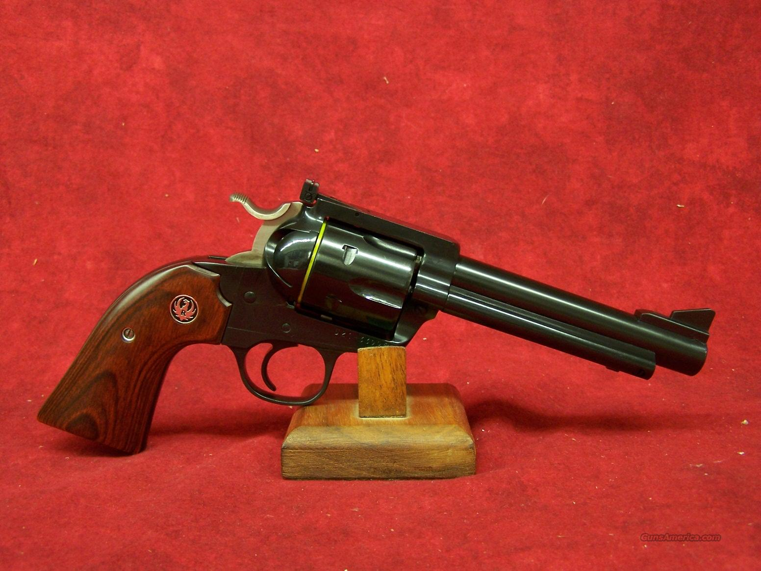 "Ruger Blackhawk Flat Top Bisley .44 Spl 5 1/2"" Blue Barrel (05235)  Guns > Pistols > Ruger Single Action Revolvers > Blackhawk Type"