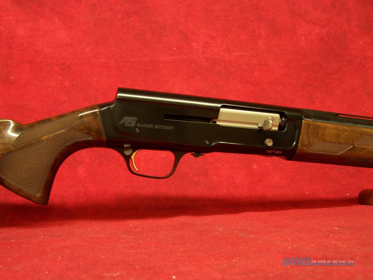 "Browning A5  SWEET 16 16GA 26"" Barrel DS (0118005005)  Guns > Shotguns > Browning Shotguns > Autoloaders > Hunting"