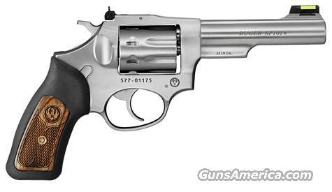 """Ruger SP101 .22LR 4.2"""" 8 shot KSP-242-8 (5765)  Guns > Pistols > Ruger Double Action Revolver > SP101 Type"""