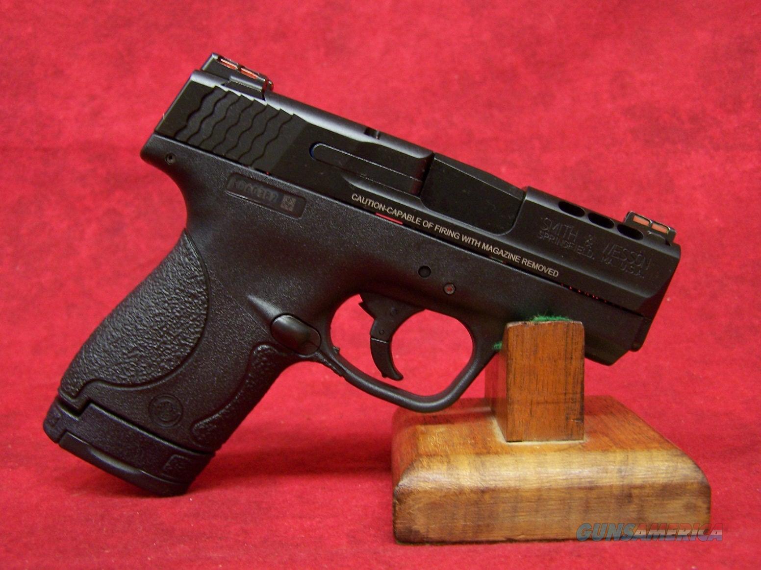 Smith & Wesson M&P Shield Ported .40 S&W 3.1 Inch Ported Barrel Black Melonite Finish (10109)  Guns > Pistols > Smith & Wesson Pistols - Autos > Shield