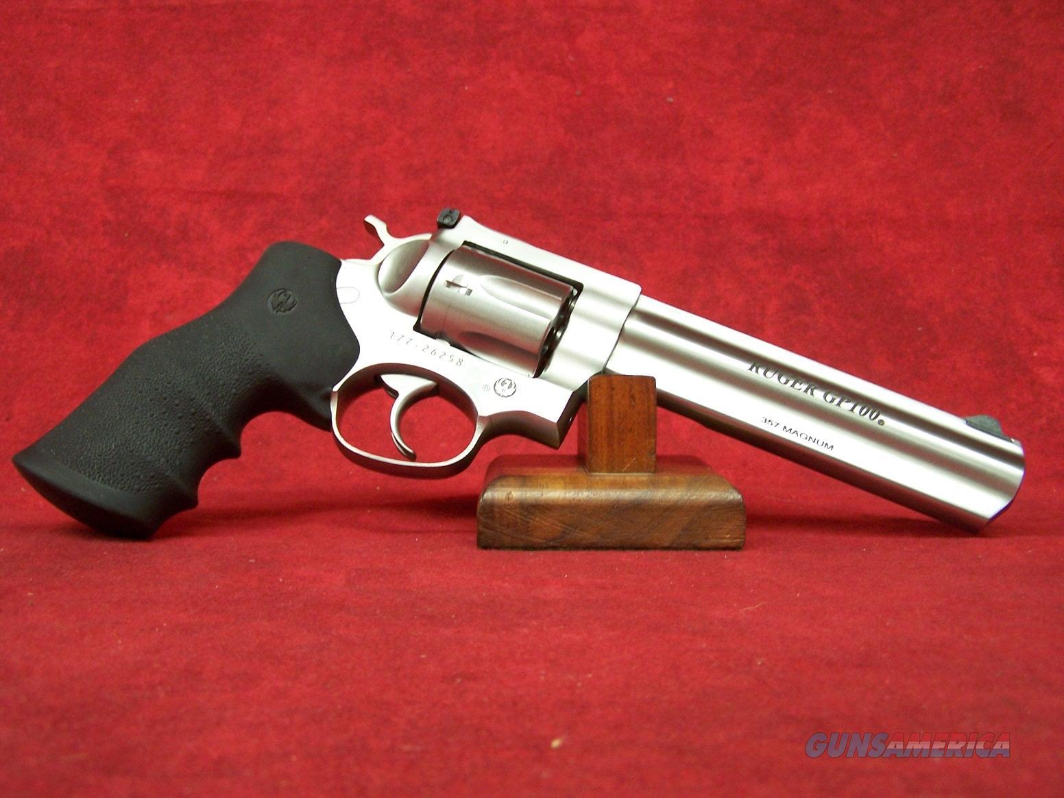 """Ruger GP-100 .357 Mag 6"""" SS Barrel (1707)  Guns > Pistols > Ruger Double Action Revolver > GP100"""
