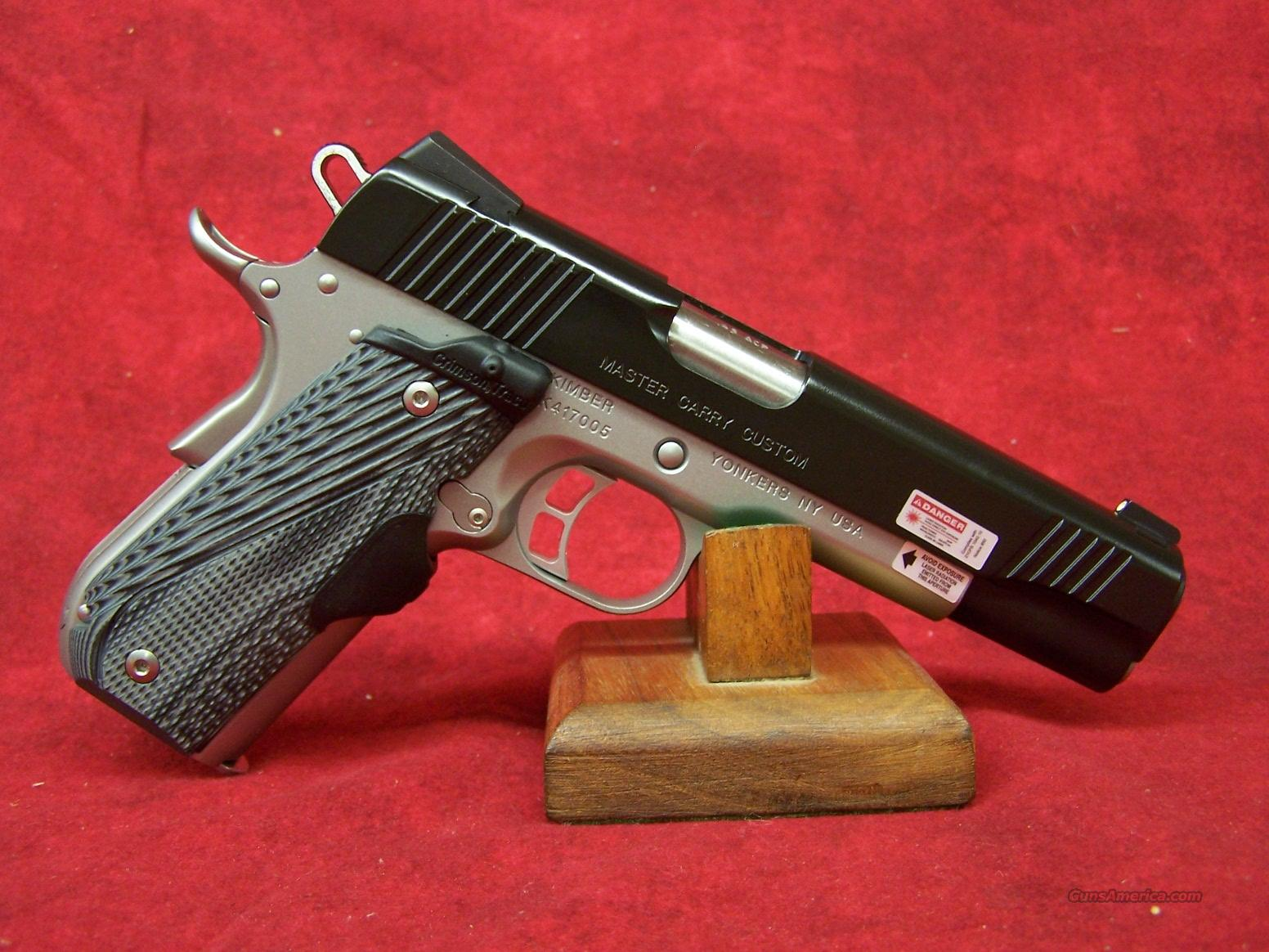 Kimber Master Carry Custom .45ACP (30282)  Guns > Pistols > Kimber of America Pistols