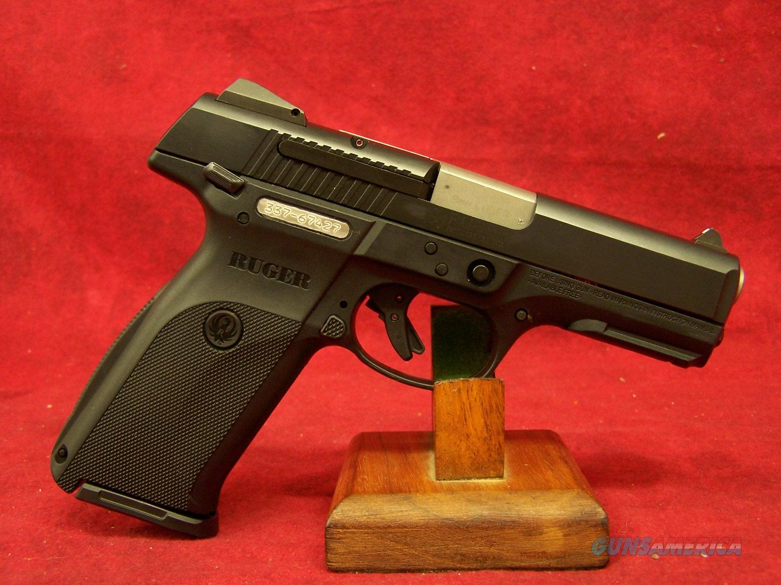 "Ruger SR9 9mm 4"" Barrel (03321)  Guns > Pistols > Ruger Semi-Auto Pistols > SR Family > SR9"