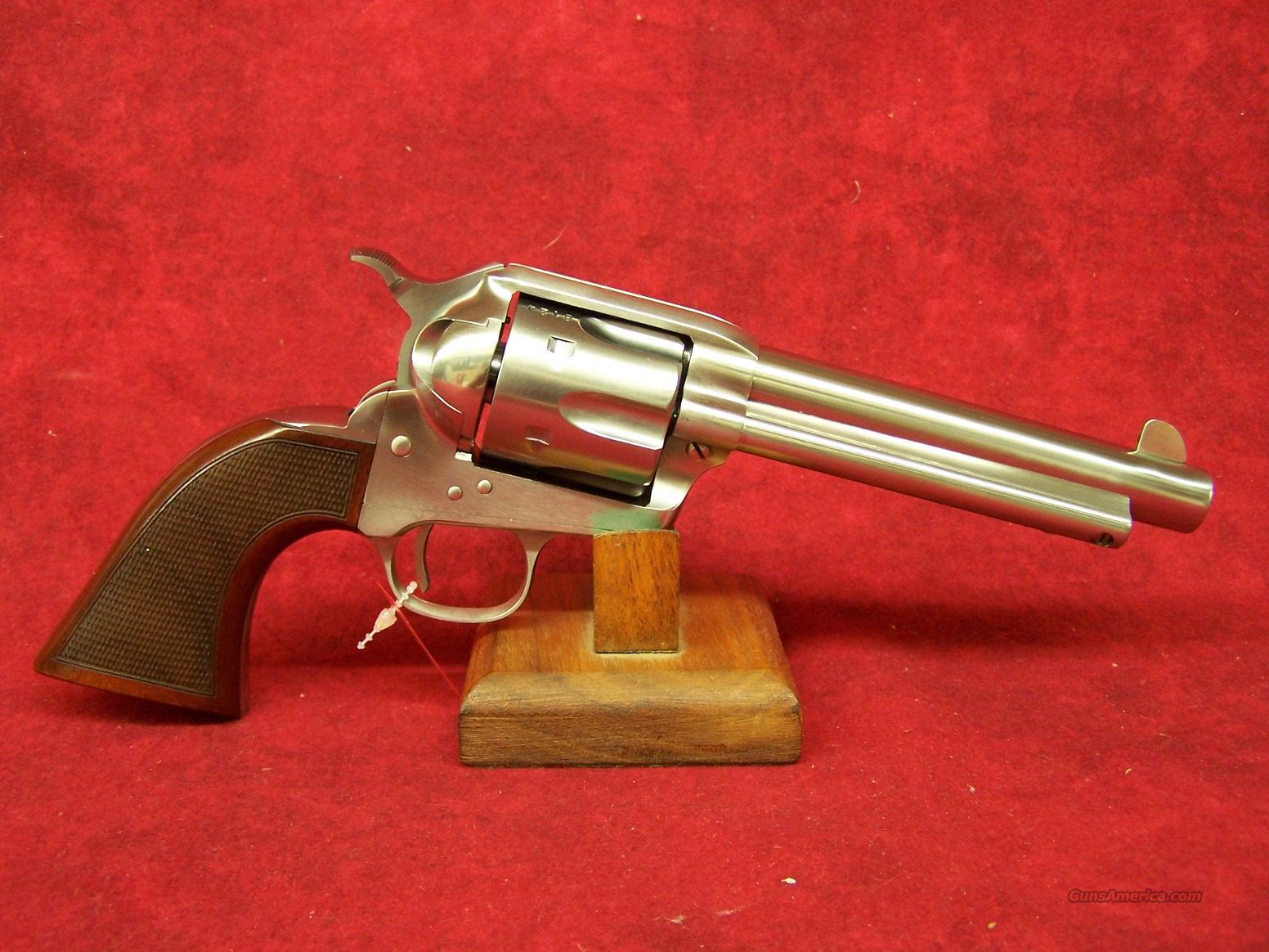 "Uberti 1873 Cattleman El Patron Competition .45LC 5 1/2"" Stainless Steel (345083)  Guns > Pistols > Uberti Pistols > Ctg."